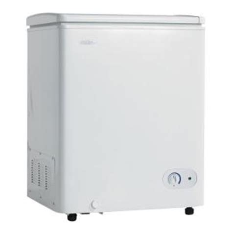 danby 3 6 cu ft chest freezer in white dcf401w1 the