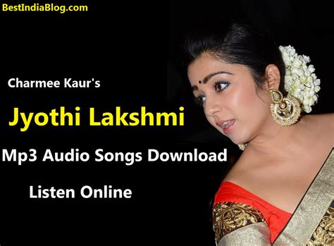 download free mp3 khamoshiyan songs jyothi lakshmi mp3 audio songs download listen online