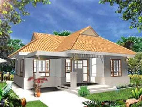 single storey bungalow modern house plans house style