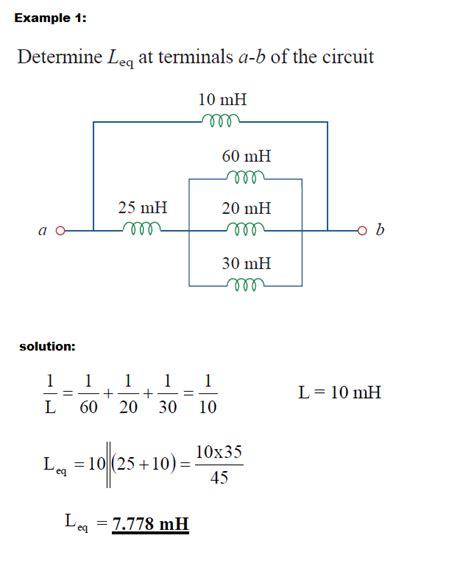 inductor capacitor combination inductors in series and parallel combination 28 images inductors and capacitors tutorial 28