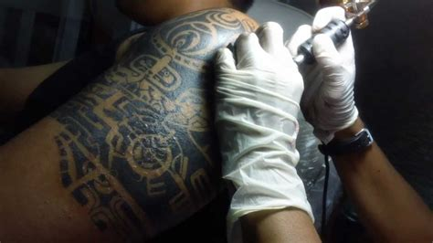 dwayne johnson tattoo making tattoo ala dwayne johnson by frances arbie professional