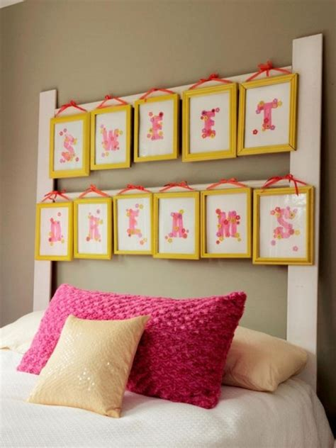 Bedroom Wall Frame Decor by 37 Diy Home Decor Ideas For A Vintage Look