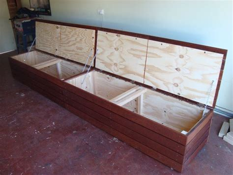 long storage bench seat the 25 best outdoor storage benches ideas on pinterest