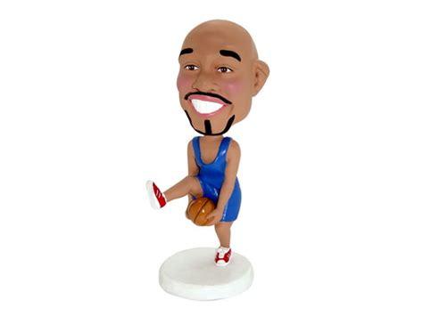 bobblehead basketball dribbling basketball bobblehead