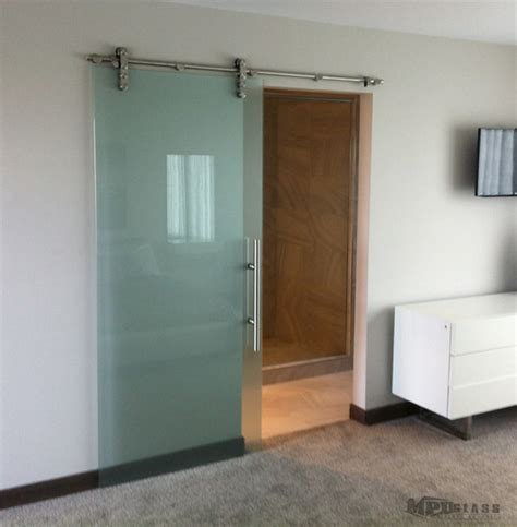 sliding glass doors contemporary bedroom other metro
