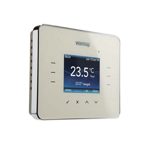 bathroom underfloor heating thermostat warmup 3ie programmable touchscreen thermostat uk bathrooms