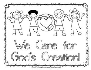 teaching to care about god s creation reflections activities and prayers for catechists and families books earth day bible coloring pages