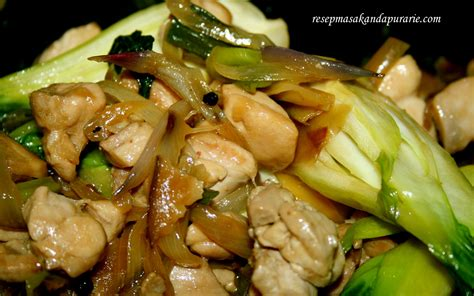 Kaki Jamur Kering Pengganti Daging resep tumis ayam jamur shiitake mudah resep masakan dapur arie
