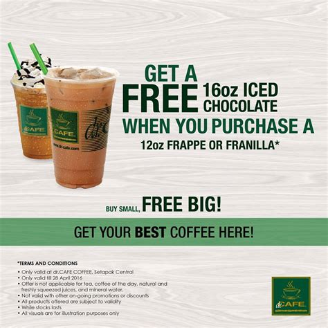 Cosway Detox Tea by Dr Cafe Buy Small 12oz Free Big 16oz Promotion