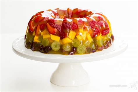 fruit jello jello fruit cake dessert s dish