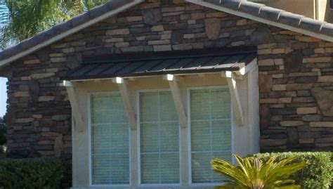 metal roof awnings metal roof awnings pinterest