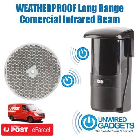 Door Entry Alert System by Range Entry Beam Waterproof Door Driveway Alert
