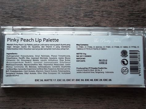 Harga Wardah Lip Palette wardah lip palette review the pretty tales