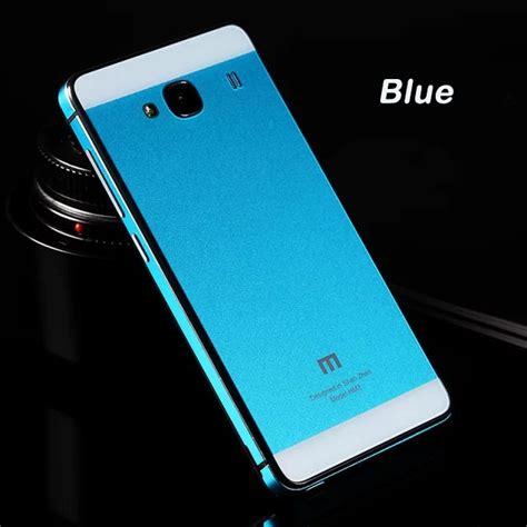 Aluminium Tempered Glass For Xiaomi Redmi 2 2014 aluminium tempered glass for xiaomi redmi 2 redmi 2 prime blue jakartanotebook