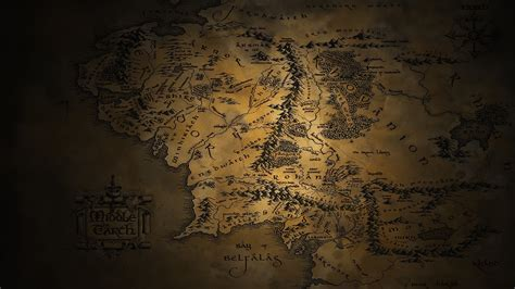 hd wallpapers 1920x1080 lord of the rings map of middle earth wallpaper 183