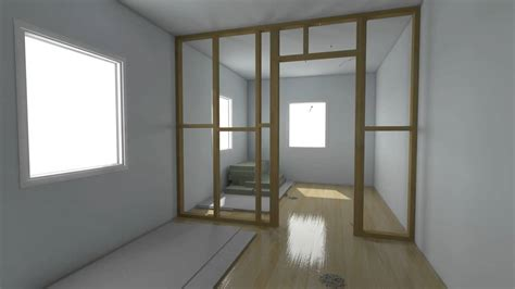 temporary bedroom walls build a partition wall in less than 30 seconds garage