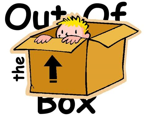 Out With The by Think Smart Think Different Think Out Of The Box