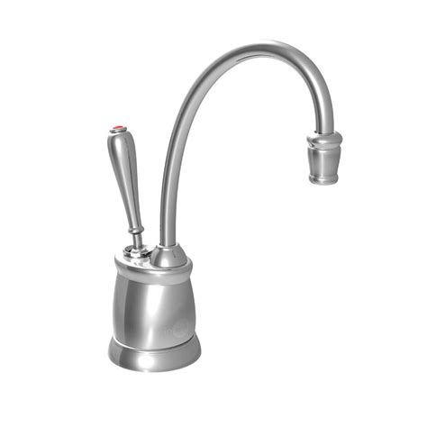 Water Dispenser Faucet insinkerator indulge tuscan single handle instant water dispenser faucet in chrome f gn2215c