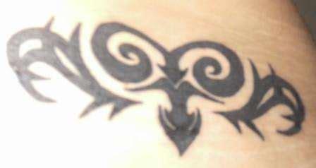 tribal brown ink aries design aries images designs