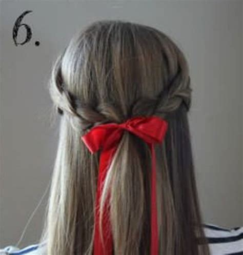 cute hairstyles ribbon 15 incredibly easy hairstyles with a ribbon for every day
