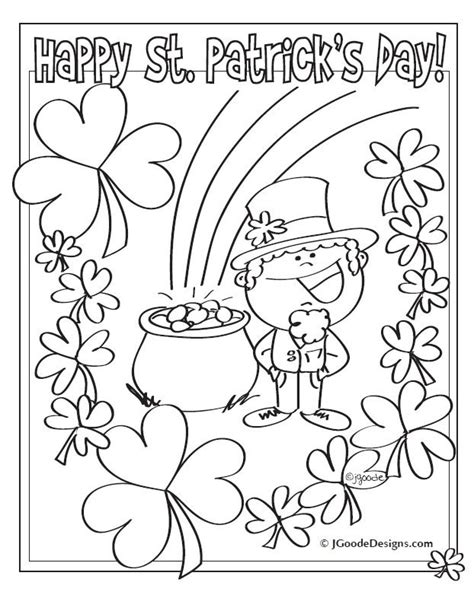 st s day coloring sheets st s day coloring pages st s day