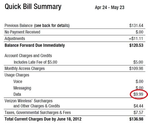 verizon phone bill 28 images verizon sends 3 000 bill