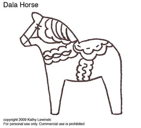 dala horse coloring page dala horse embroidery pattern kat knits blogspot com