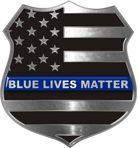 Blue Lives Matter Car Sticker