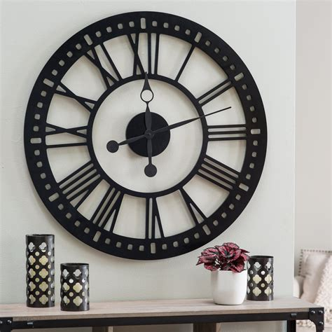 decorative clock large decorative wall clocks roselawnlutheran