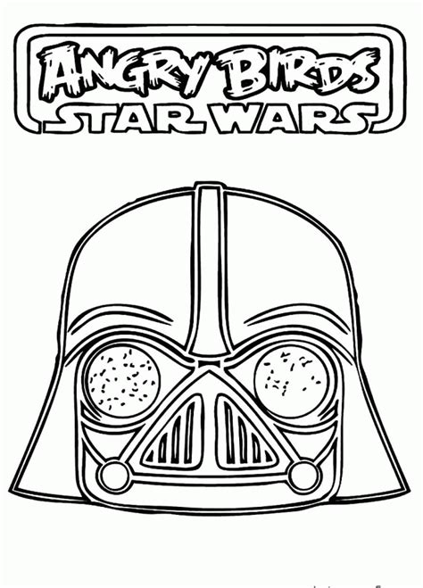 angry birds star wars coloring pages luke darth vader coloring pages best coloring pages for kids
