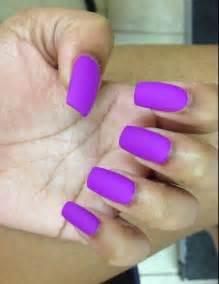 matte colored nails neon purple matte nails hair nails