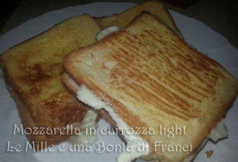 mozzarella in carrozza light mozzarella in carrozza light