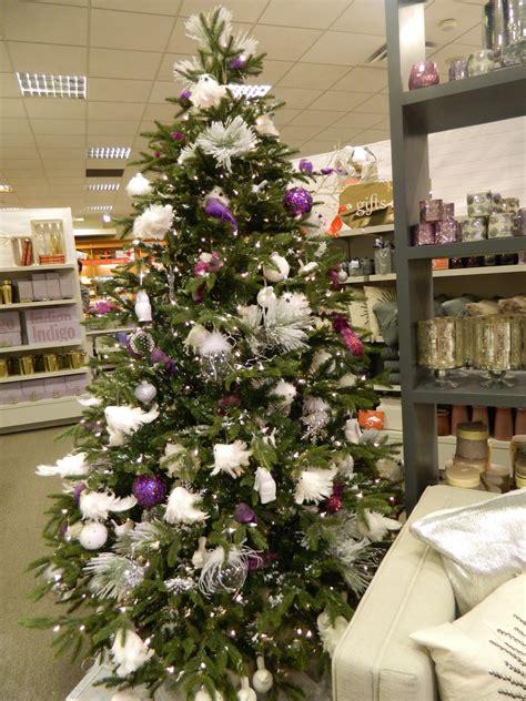 Dress Anak Impor Big Flower Soft Purple Dress Anak Impor decoration wonderful season tree white