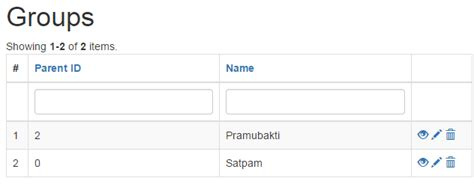 yii2 dataprovider tutorial yii2 searching related data from same table in griedview