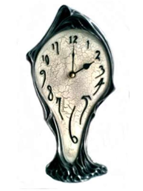 arabesque gifts dali mantle clock s1