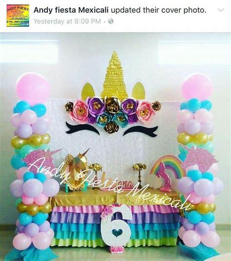 ideas para decorar una fiesta de xv años 24 mejores im 225 genes de xv a 209 os unicornio en pinterest