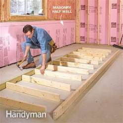 best way to insulate concrete basement walls how to finish a basement framing and insulating the
