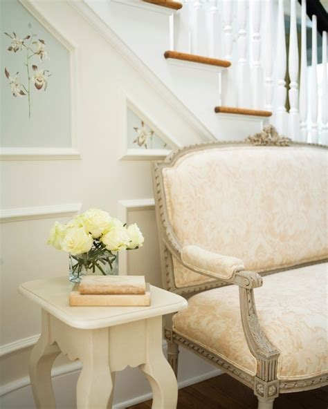foyer settee foyer settee transitional entrance foyer nightingale