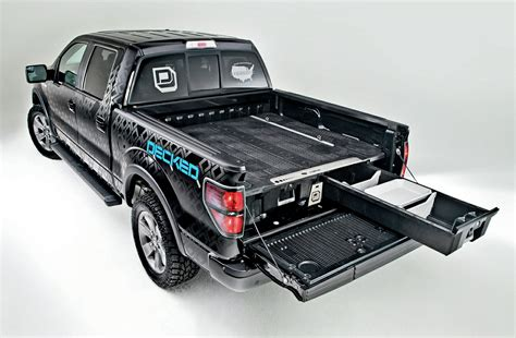 truck bed storage truck bed tool box storage drawers