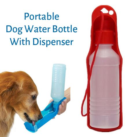 top pet gifts travel dog water bottle dispenser top pet gifts