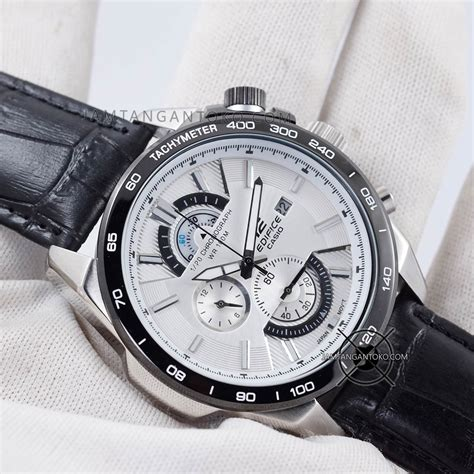 Casio Edifice Efr 520 Ori Bm gambar edifice efr 520 kulit plat putih on 1