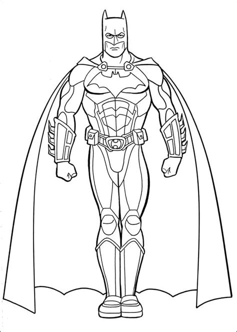 Cartoons Coloring Pages Batman Coloring Pages A Coloring Page