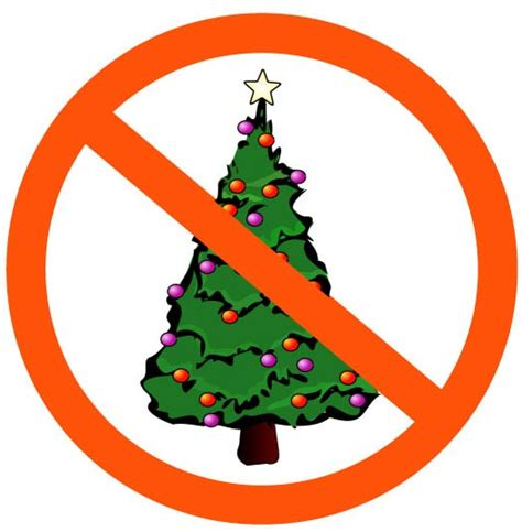 christmas trees banned in israel