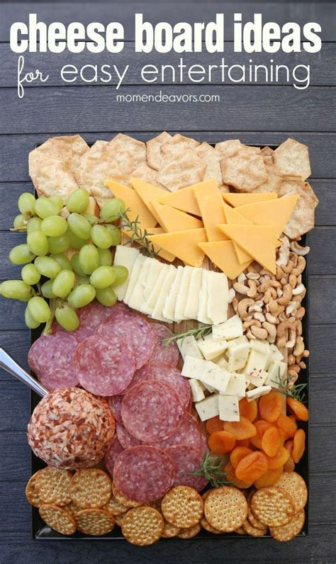 delicious cheese board ideas perfect  easy entertaining ad appetizer recipes appetizers
