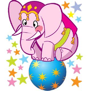 circus elephant cartoon picture images