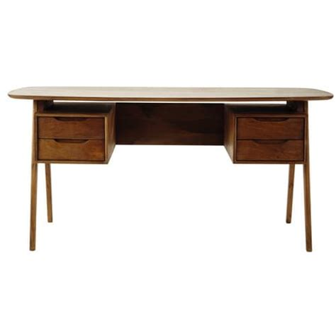 Mango Wood Desk by Mango Wood Vintage Desk W 165cm Janeiro Maisons Du Monde