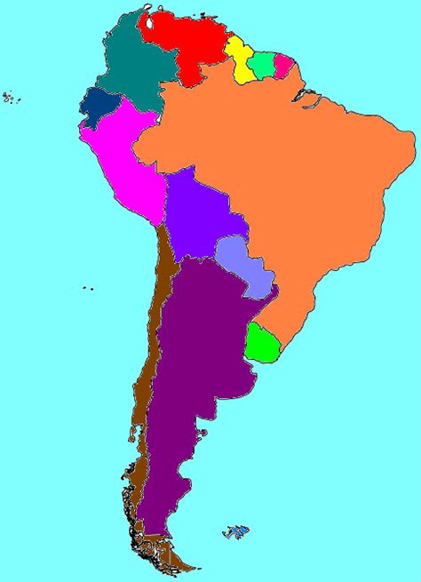 south america map song south america