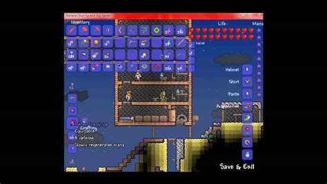how to make space terraria how to make a space gun youtube