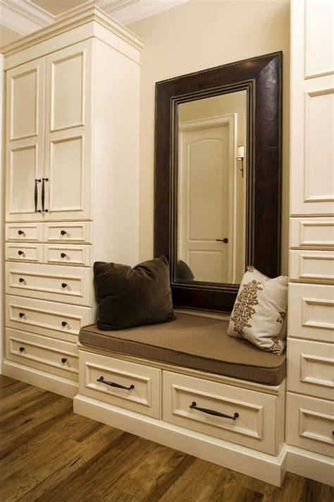 master bedroom closets closet seat no place like home closets pinterest