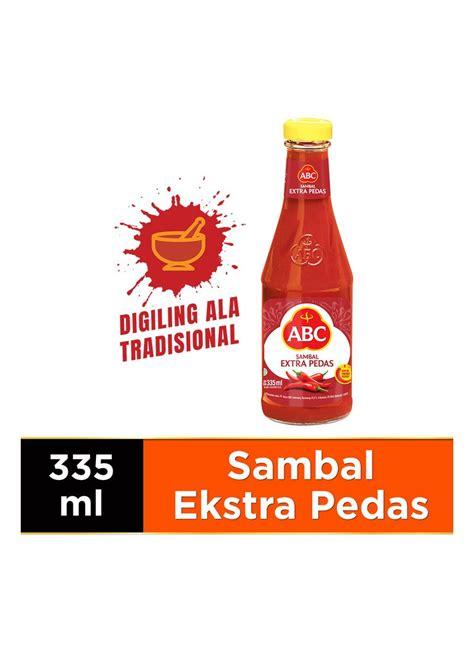 abc sambal extra pedas btl ml klikindomaret